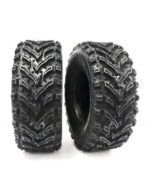 (2) 25X10-12 Mud Crusher REAR ATV Tires 6Ply HEAVY DUTY pair of ATV TIRES