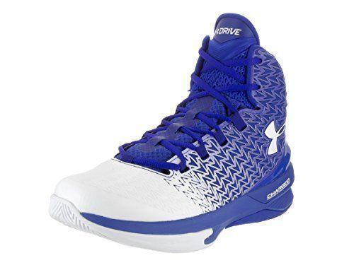 Under Armour UA Clutchfit Drive 3 Basketball Shoes Blue/White 9.0 1269274-400