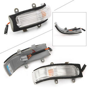 Details About 2pcs Side Mirror Turn Signal Light Lamp Indicator For Toyota Camry Vios 2008 12