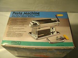 amaco pasta machine