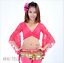 NEW Lace Blouse Top Belly Dance Costumes Practice Dancewear 11 colors to choose