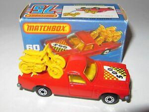 Matchbox-Superfast-No-60-HOLDEN-PICK-UP-039-RED-039-MIB