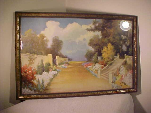 FABULOUS Vintage Framed R. Atkinson Fox PRINT ORIGINAL DECO FRAME on eBay thumbnail