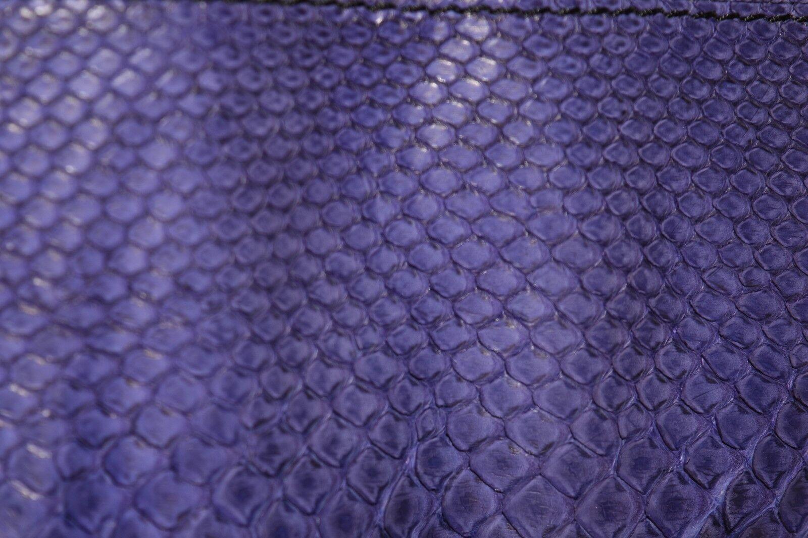 Neu Vbh Nomade African lila Tinte Python Python Python Veloursleder Schultertasche | Authentische Garantie  | Verwendet in der Haltbarkeit  | Großartig  479692