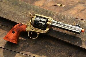 Details about M1873 Colt  45 Peacemaker Old West Revolver - 1873 - Pistol -  Denix Replica Gun