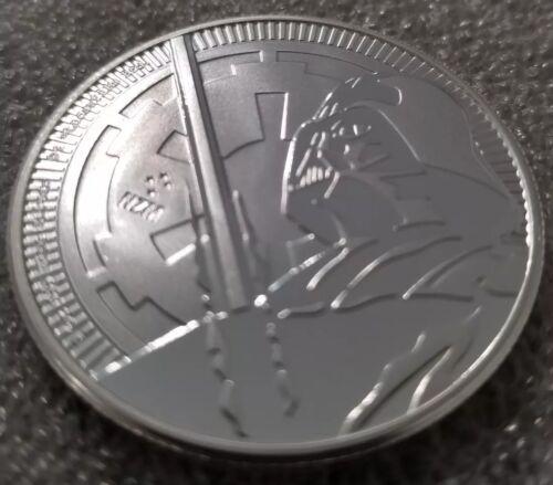 999 Silver Coin 2 dollar Star Wars jedi lightsaber NEW 2018 Darth Vader 1 oz