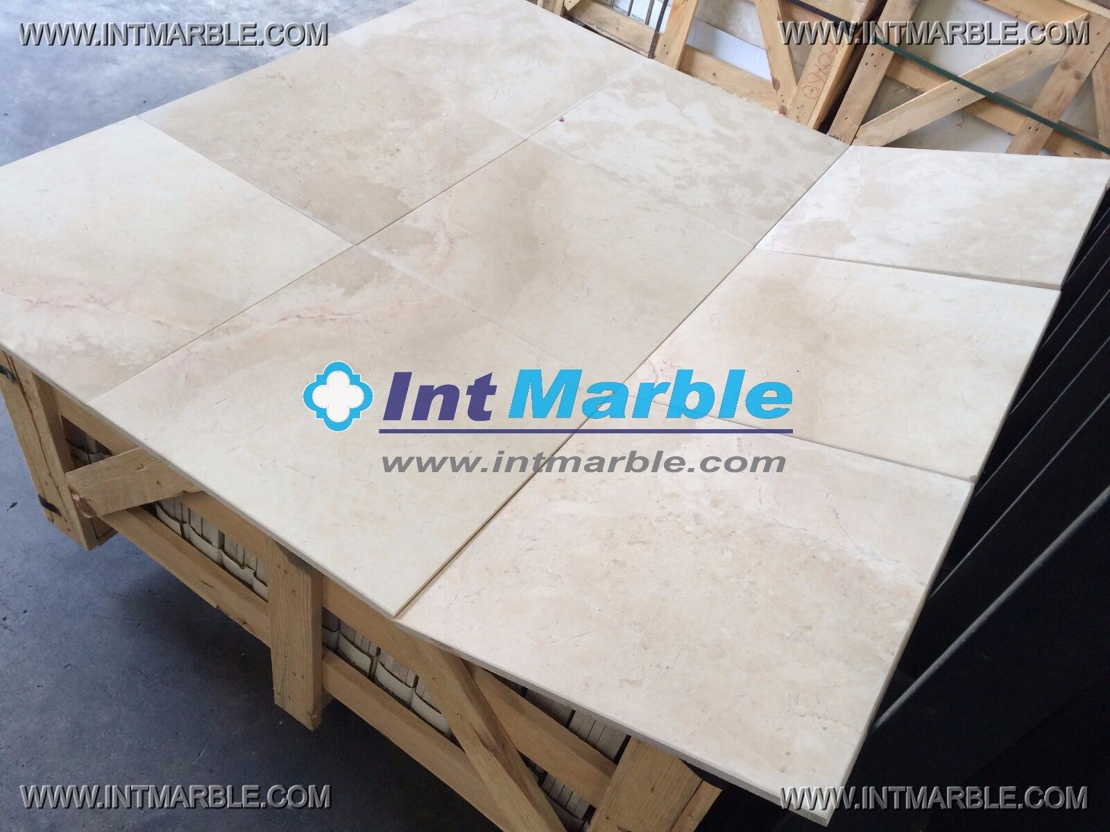 Marble Tiles, Crema Marfil Ivory Honed, Marble Floor   Wall Tiles, 406x406x12mm