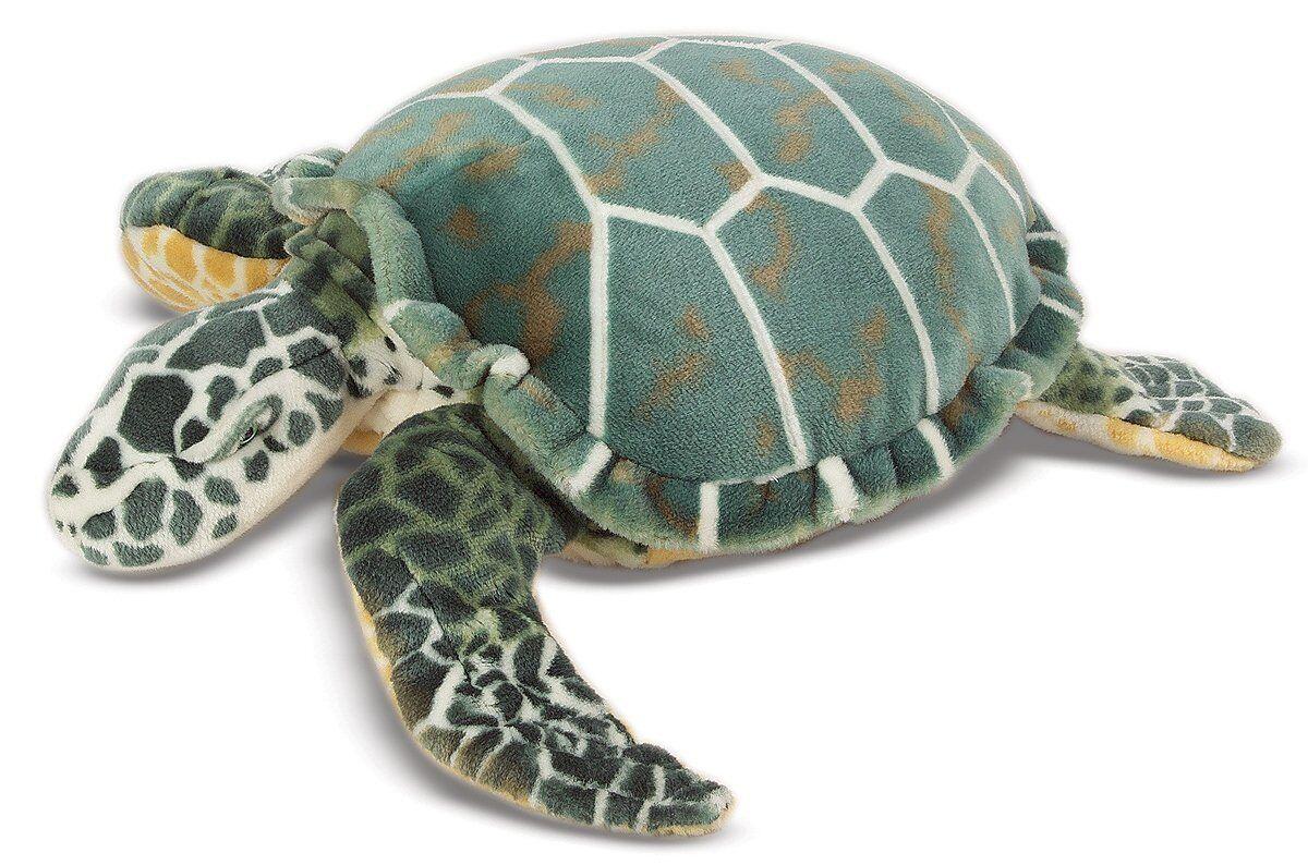 Melissa & Doug Giant Plush Stuffed Sea Turtle