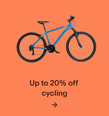 Up to 20% off cycling