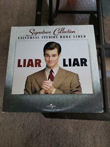 ****   LIAR LIAR SIGNATURE COLLECTION  LASERDISC  Jim Carrey