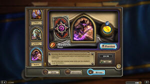 HEARTHSTONE-MEDIVH-HERO-skin-and-card-back-INSTANT-delivery-24-7-LAST-DAYS
