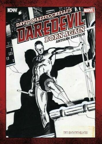 DAVID MAZZUCHELLIS DAREDEVIL BORN AGAIN ARTISAN EDITION GRAPHIC #28578 U