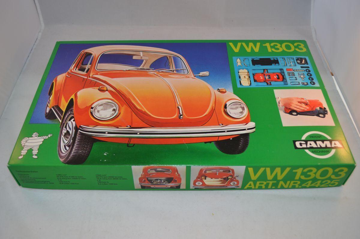 Gama 4425 kit montage set Volkswagen Beetle Kafer 1303 mint in box superb