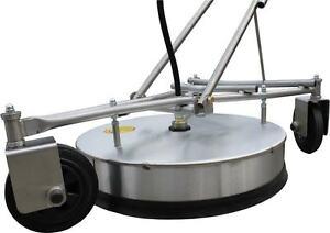 BR 521 Industrie Edelstahl Bodenreiniger 50 cm Ø für Hochdruckreiniger