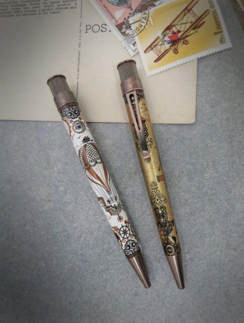 * Set of 2 Retro 51 Vintage Flight III Steampunk Ed. Pens - Limited/Numbered *