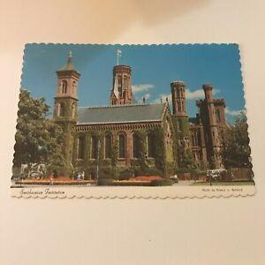 Older-Postcard-Smithsonian-Institution-Washington-DC