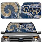 Saint Louis Rams Licensed NFL Reflective Car Windshield Sun Shade Automobile, St