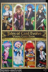 Details about JAPAN Tales of Card Evolve: Visual Card Book
