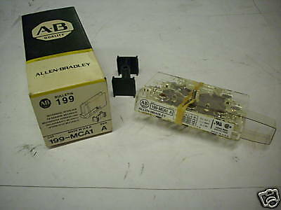 ALLEN BRADLEY 199MCA1 INTERLOCK FOR REVERSING STARTER