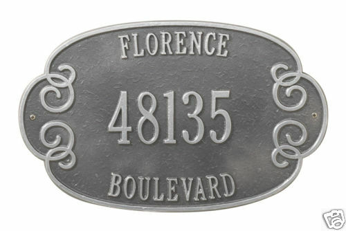 Personalized Address marker sign Whitehall florence