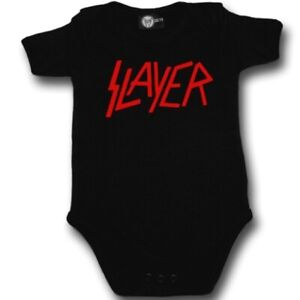 c031cdd7 Details about Slayer Logo Baby One Piece Bodysuit Infant Kids Romper Black  Blue Pink White