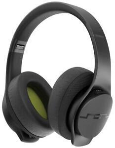Sol Republic Soundtrack Black Wireless Bluetooth Headphones w/ Microphone