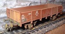 Roco 46034 Vagone Merci Aperto O 10 DB Ep. 3 invecchiato.