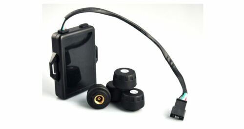 Sistema de monitoreo de presión de neumáticos TPMS que enlace con las unidades de rango D y E en tienda