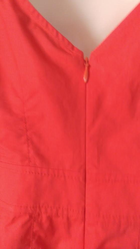 DEREK LAM 10 CROSBY COTTON POPLIN OFF SHOULDER DRESS POPPY POPPY POPPY RED Sz.8 NWT  325 869c6e