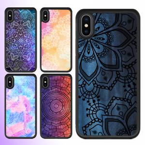iPhone-X-8-8-Plus-7-6s-6-SE-5s-Case-Mandala-III-Pattern-Bumper-Cover-For-Apple
