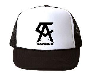 Team Canelo Boxing Trucker Hat Mesh Cap Snapback Adjustable Brand ... 109a4e03e3ac