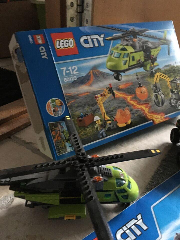 Lego City, 60123. 60121