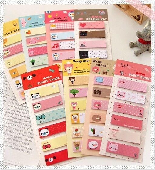 F05285 Korea stationery Small Fresh N times Stickers Note Paper Memo Pad 6