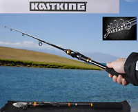 Professional Carbon Telescope Kastking Fishing Rod Travel 5.4ft-10.8ft Spinning