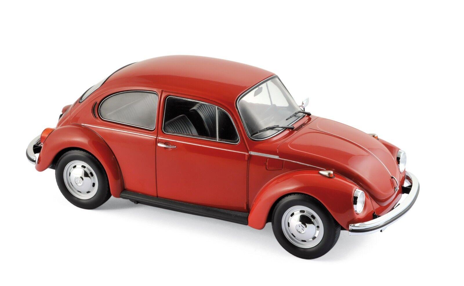 Te    er un voeu NOREV 188520 Volkswagen VW 1303 1972 Red 1/18 | Bonne Conception Qualité  585573