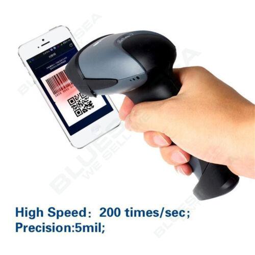 EYOYO Handheld Scan code 1D 2D QR USB CCD Barcode Scanner Reader QR Code Screen