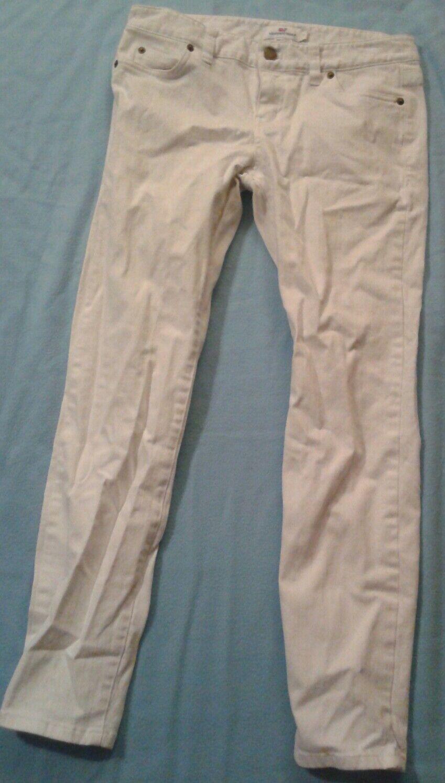 Vineyard Vines White Jeans Women's Sz  6
