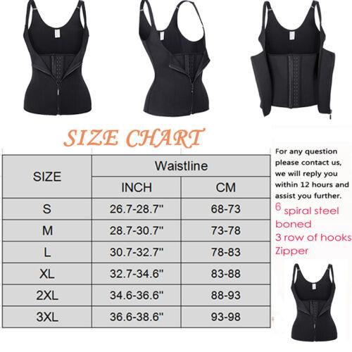 Women Body Shaper Slimming Waist Trainer Cincher Underbust Corset Shapewear USA