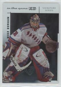 2003-04 In the Game-Used Signature Series Mike Dunham #72