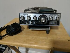 Vintage-Sears-SSB-CB-Transceiver-Citizens-Band-Two-Way-Radio