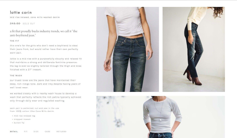 Imogene + Willie Lottie Jeans Size 28