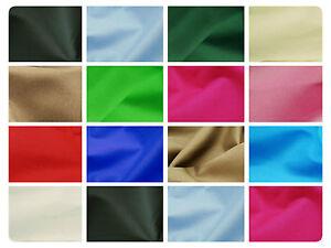 100-Cotton-Canvas-Fabric-Plain-Solid-Colours-Material-57-034-146cm-wide
