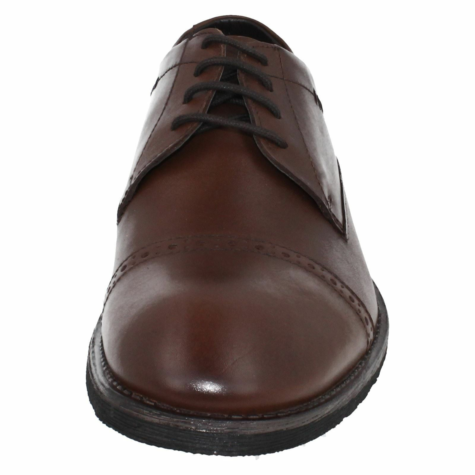 Mens braun Leather Lace schuhe Up Hush Puppies Formal schuhe Lace Craig Luganda b52be7