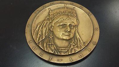 Medals Coins & Paper Money Bronze Medal Aromatic Flavor King Mieszko Ii Lambert Of Poland & Rycheza Of Poland