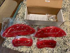 2017 2020 Jaguar F Pace Front Rear Red Mgp Brake Disc Caliper Covers 18 F Pace Fits Jaguar