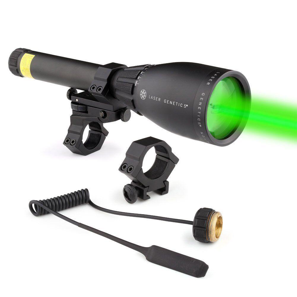 Laser Genetics ND3 X 50 verde a larga distancia designador láser con Montaje Nuevo