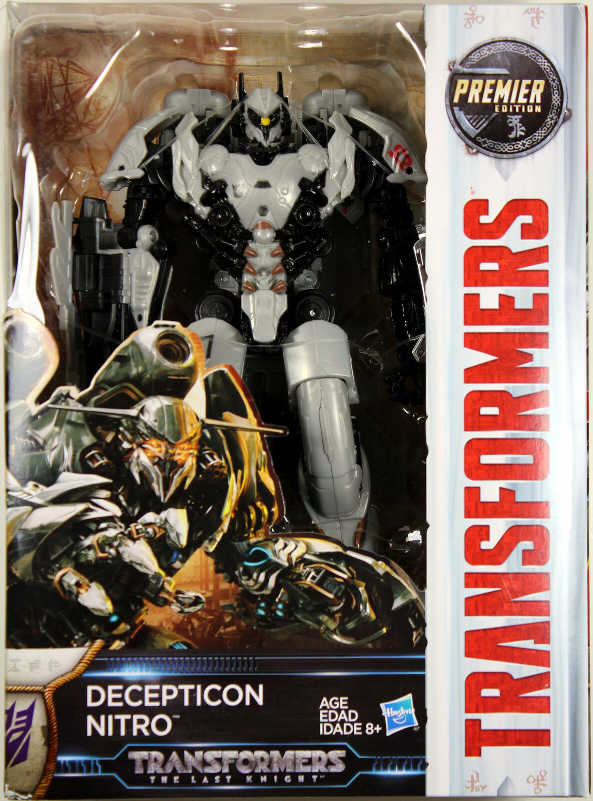 Transformers  Last Knight  Decepticon NITRO ACTION FIGURE  Voyager Class