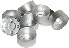 40 Tealight Candle Moulds. Aluminium. For making tealight candles