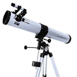 Seben-900-76-Reflektor-Teleskop-Neu-Big-Pack