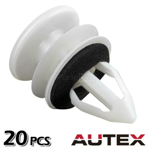20pcs Door Panel Clips Retainer Fastener for 2014-2015 Cadillac ATS CTS DTS SRX